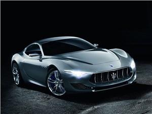 Maserati Alfieri concept 2014 вид спереди