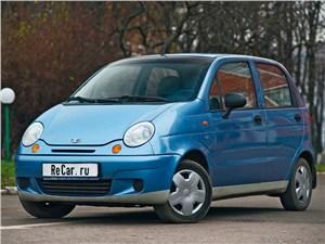 Daewoo Matiz - daewoo matiz 2000 вид спереди