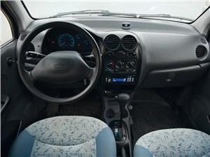 Daewoo Matiz 2000 водительское место