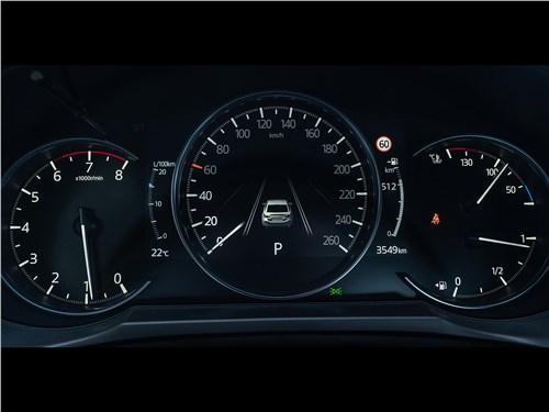 Mazda 6 2018 приборная панель