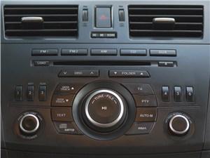 Mazda 3 2011 аудиосистема