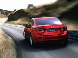 Mazda 3 2013 вид сзади