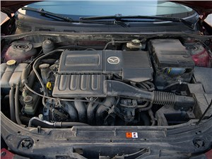 Mazda 3 2006 двигатель