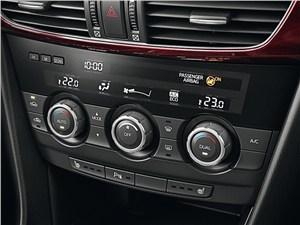 Mazda 6 2013 управление климатом