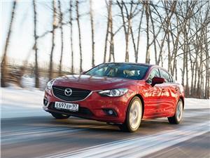 Mazda 6 2013 вид спереди