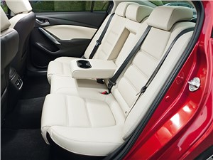 Mazda 6 2013 задний диван