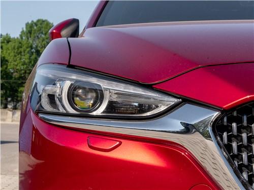 Mazda 6 2018 передняя фара