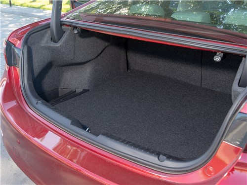 Mazda 6 2018 багажное отделение