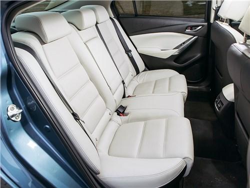 Mazda 6 2016 задний диван