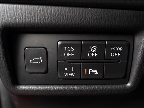 Mazda CX-5 2017 кнопки управления