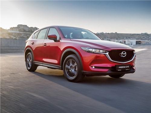 Mazda CX-5 получит новый двигатель