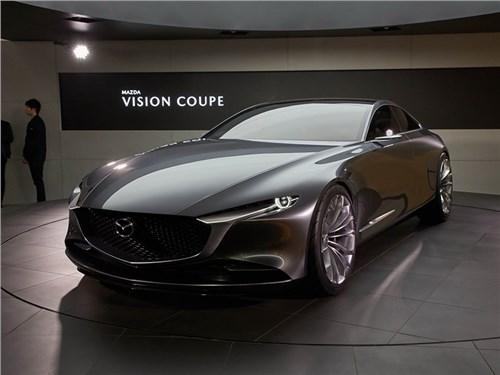 Mazda представила четырехдверное купе