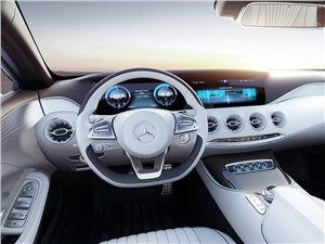 Предпросмотр mercedes-benz s-klasse концепт 2014 водительское место