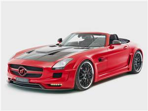 Mercedes-Benz SLS AMG Roadster вид спереди