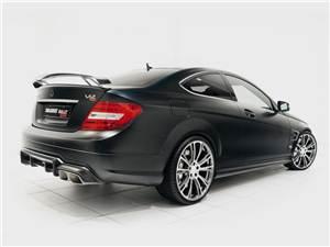 Mercedes-Benz C-Class Coupe вид сзади