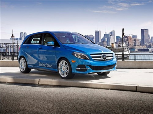 Новость про Mercedes-Benz B-Class Electric Drive - Mercedes-Benz B-класса