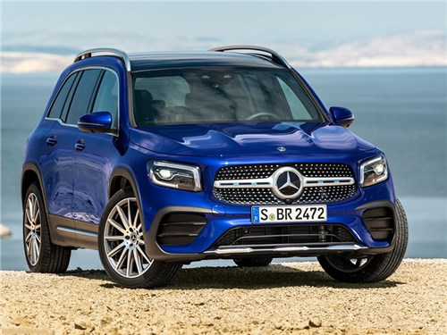 Представлен Mercedes-Benz GLB