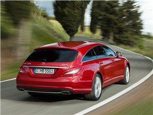 Mercedes-Benz CLS-Class - Mercedes-Benz CLS 2013 вид сзади