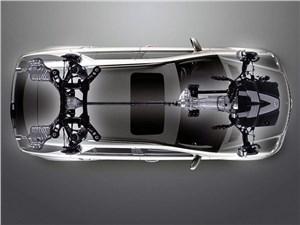 Предпросмотр mercedes-benz m-klasse 2005 схема трансмиссии и подвесок