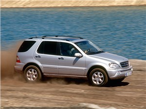Положение обязывает.. (BMW X5, Mercedes-Benz ML-Klasse, Volkswagen Touareg) M-Class -