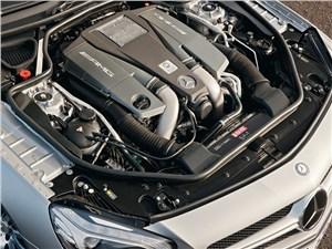 Mercedes-Benz SL 63 AMG 2012 двигатель