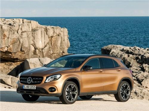Новость про Mercedes-Benz GLA-Class - Mercedes-Benz начал работу над новым поколением GLA