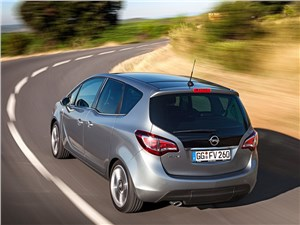 Opel Meriva 2013 вид сзади