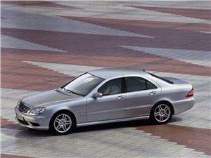 Предпросмотр mercedes-benz s-klasse 2004 вид спереди