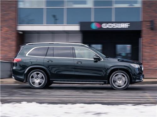 Mercedes-Benz GLS 2020 вид сбоку