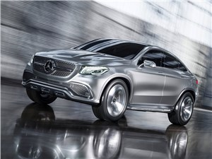 Mercedes-Benz Coupe SUV Concept 2014 основной вид