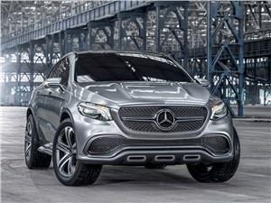Предпросмотр mercedes-benz coupe suv concept 2014 вид спереди