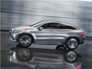 Предпросмотр mercedes-benz coupe suv concept 2014 вид сбоку