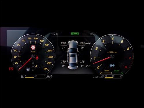 Mercedes-Benz E53 AMG 2019 приборная панель