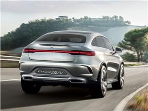Предпросмотр mercedes-benz coupe suv concept 2014 вид сзади