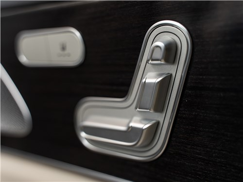 Mercedes-Benz GLS 2020 регулировка сиденья