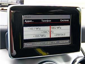 Предпросмотр mercedes-benz cla-klasse 2013 монитор