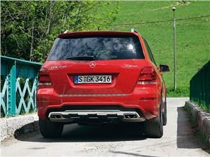 Mercedes-Benz GLK 2013 вид сзади
