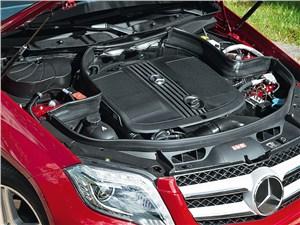 Mercedes-Benz GLK 2013 двигатель