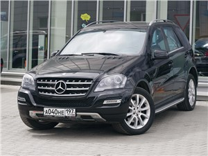 Mercedes-Benz M-Class - mercedes-benz ml 350 2008 вид спереди