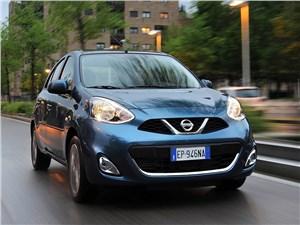 Nissan Micra - Nissan Micra 2013 вид спереди