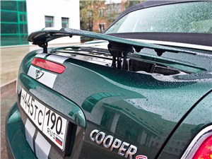 MINI Cooper S Roadster 2012 антикрыло