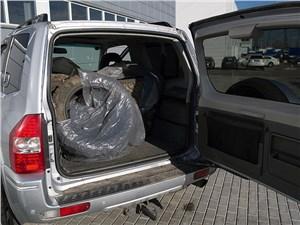Mitsubishi Pajero 2005 багажное отделение