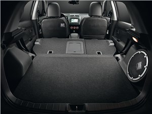 Mitsubishi ASX 2013 багажное отделение