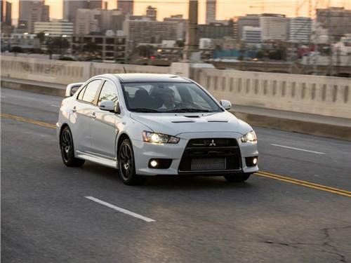 Новость про Mitsubishi Lancer Evolution - Mitsubishi продал последний Lancer Evolution в России