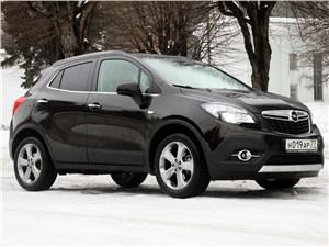 Opel Mokka 2012 вид сбоку