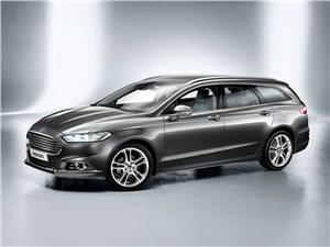 Середняки Mondeo - Ford Modeo универсал 2013 вид спереди