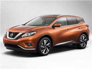 Новый Nissan Murano - Nissan Murano 2015 вид спереди сбоку