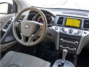 Nissan Murano 2010 водительское место