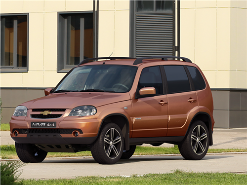 Chevrolet Niva получила новую спецсерию