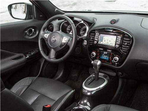 Nissan Juke 2017 салон